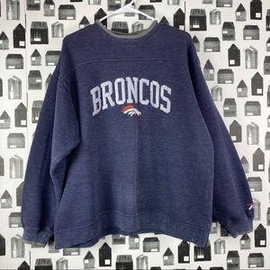 Pro Player | Denver Bronco's Pullover Sweatshirt